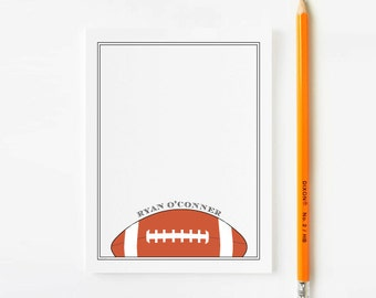 Personalized Boys Football Stationery, Personalized stationery for boys, Football Stationary, Boys Stationery, Personalized note cards,KS049
