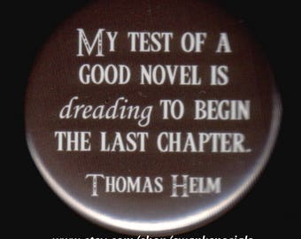 Thomas Helm Novel Test Quote Button