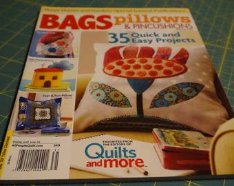 Bags, Pillows & Pincushions Magazine *Free with purchase, details below