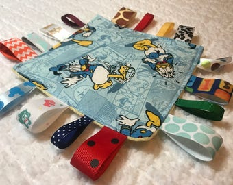 Donald Duck Baby Sensory Crinkle Toy