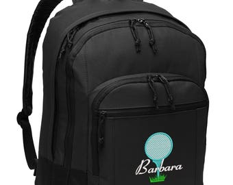 Golf Personalized Embroidered Backpack