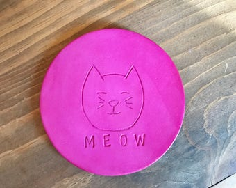Kitty Cat Meow Coaster