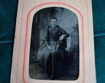 Victorian Tin Type Photo