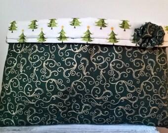 Gift bag, fabric festive gift bag