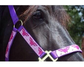 Custom horse halter