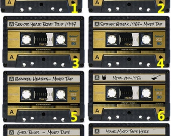Mixed Tape Stickers