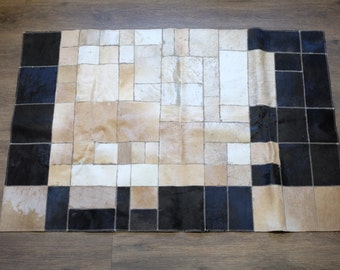 Natural hide rug or wall hanging