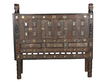 Damchiya Console Tribal Furniture Antique Console India Furniture Mirrorwork