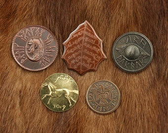 The Lord of the Rings Set #1 - Five coins from MIDDLE-EARTH™