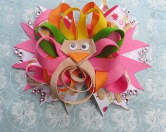 Thanksgiving Boutique Bow barrette