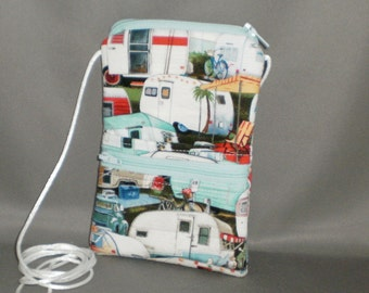 Passport Purse - Wallet on a String - Sling Bag - Trailers - Campers - RVs - Tin Can
