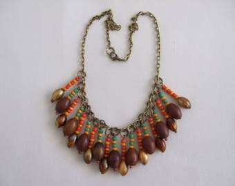 Necklace tribal