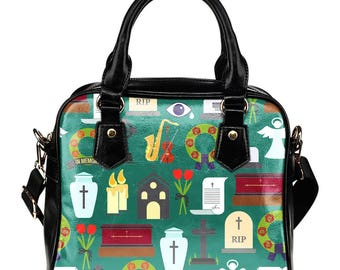 Funeral Director / Funeral Assistant / Shoulder Bag/Handbag - Gift For Funeral Directors or Funeral Assistants/Funeral/Funeral Home