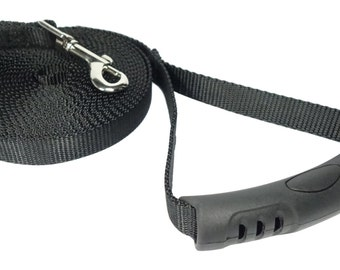 20 Foot Dog Leash - 3/4 Inch Nylon - Long Dog Leash for Training & Play