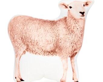 Sheep Cushion, Sheep Pillow, Farm, Sheep, Farmhouse Decor, Farm Animals, Gift For Farmer, Sheep Gifts, Cottage Decor, Australian Seller