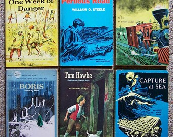 Historical Fiction - Lot of 12 Books - Perilous Road, Capture at Sea, Boris, Tom Hawke, Jump Ship to Freedom - Older Reader Children's Books