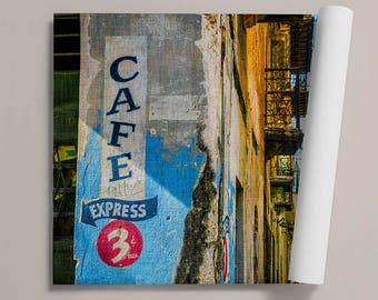 PRADO BACKSIDE - Canvas - Fine Art Print - Photo Print - Rolled