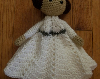 Princess Leia  Inspired Lovey Blanket