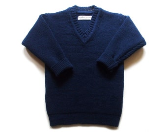Babies/Children's knitted lambswool V-neck sweater/jumper/pullover/cardigan