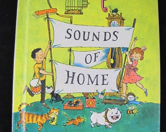 Sounds of Home (Student Edition) // Sounds of Language Readers // 1966 Great Condition // Bill Martin, Jr