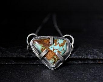 READY TO SHIP - Pilot Mountain Sterling Silver Necklace | Nevada mine | Women's Minimalist | Gugma Jewelry Women's