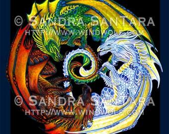 Dragons Dance Banner