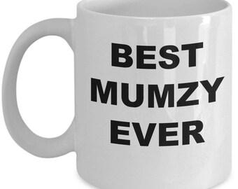 Mumzy Gift , Coffee Mug Cup , Best Mumzy Ever , Christmas Present, Birthday Anniversary gift
