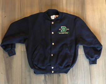Kids Vintage 90's Disney Letterman Jacket Size XL
