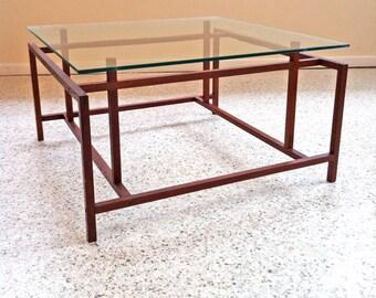 SALE Mid Century Modern Coffee Table by Henning Norgaard Komfort