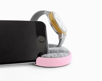 Docking Station, Phone Stand, Watch Stand, Watch Holder, Smartphone Holder, Phone Holder For Desk, iphone Holder, Useful Gifts For Women