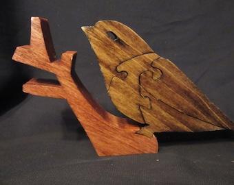 Wood Sparrow Puzzle