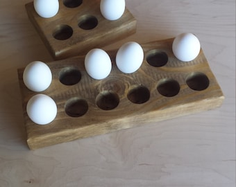 Wooden Egg Holder