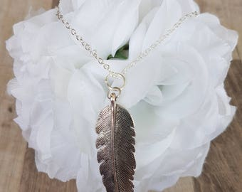 When Feathers Appear Necklace