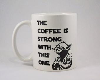 Yoda Star Wars Mug - Ideal Gift - Present