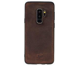 Solo Pelle Samsung Galaxy S9+ Case Original S9+ Vintage Brown