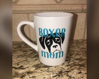 Boxer Mom Coffee Mug