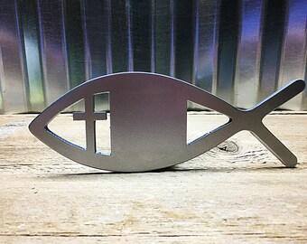 Christian Fish Symbol Hitch Cover