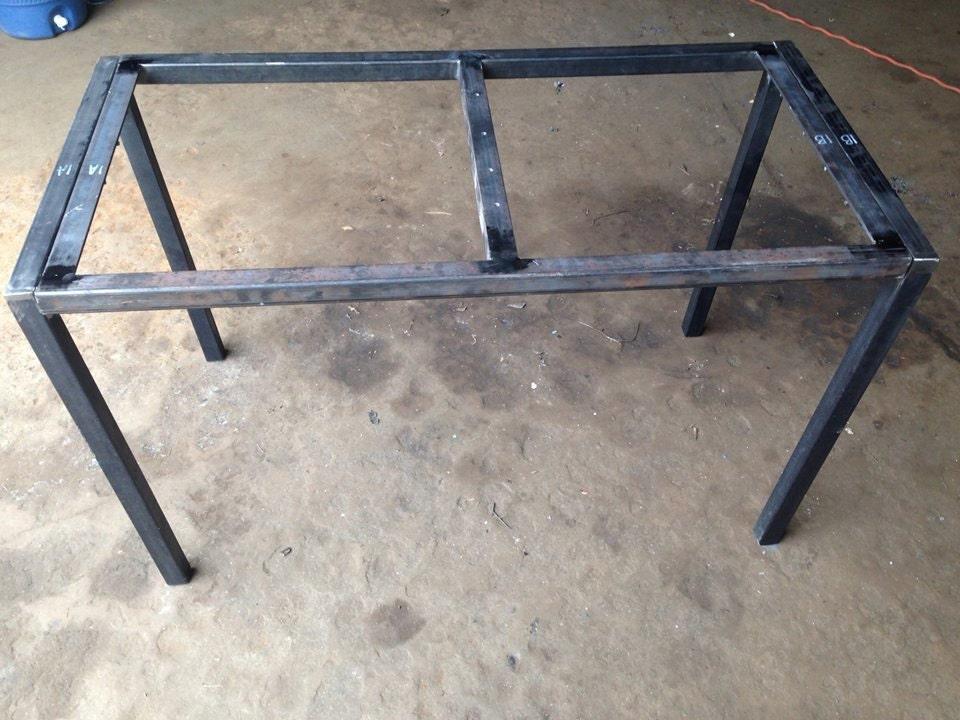 Medium Large Flat Pack Table Frame