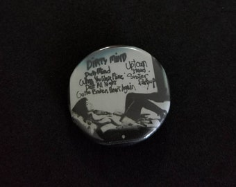 "Prince Dirty Mind 1.25"" Pinback  Button, Badge"