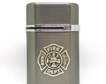 Fireman's Cross Desktop Lighter – Metallic