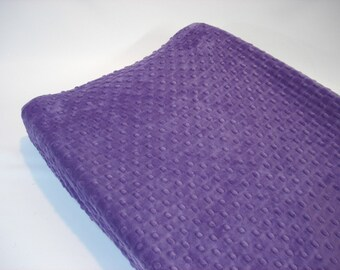 Purple Changing Pad Cover Grape