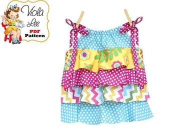 Girls Sewing Pattern. Pillowcase Dress sewing pattern. Girls Top Pattern, Toddler Clothing Pattern pdf. Toddler Top. Download. Rachel