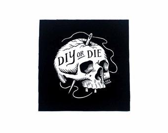 DIY or Die - Small Patch