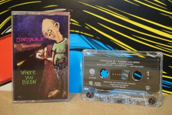 Where You Been by Dinosaur Jr Vintage Cassette Tape