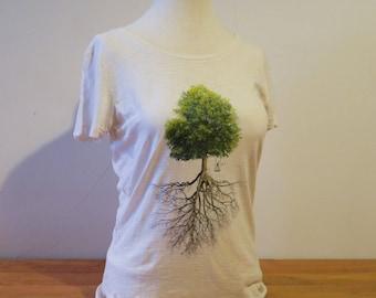 Women's T-shirt - Tree & roots