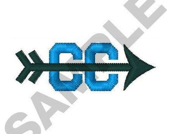 Cross Country Symbol - Machine Embroidery Design