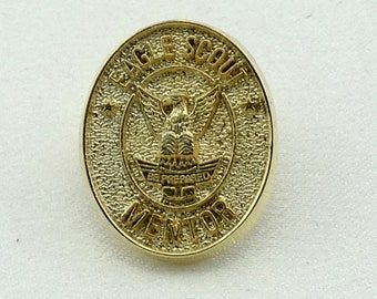 Collectable 'Eagle Scout Mentor' Boy Scouts of America Vintage Pin FREE SHIPPING!  #MENTOR-PN2