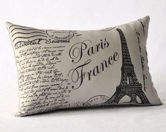 Paris France pillow