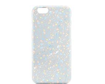 unicorn iPhone 6 case, neon phone case, pastel iPhone 6 case, gift for her, unicorn gift, trendy phone case, neon iPhone case, gift