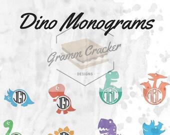Dino Monograms